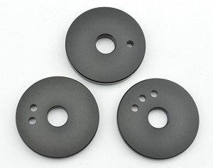 Fixie Grinder Replacement Fixie Disk Set - 3 pc - Fine, Medium & Coarse